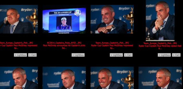 The many moods of Paul McGinley. Via golffile.ie