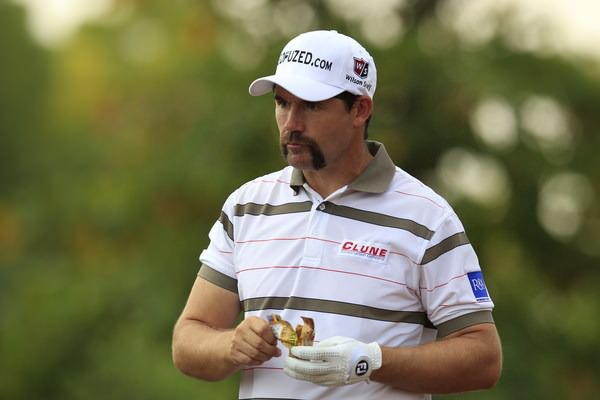 Pádraig Harrington during Movember in 2012. Picture Eoin Clarke/www.golffile.ie
