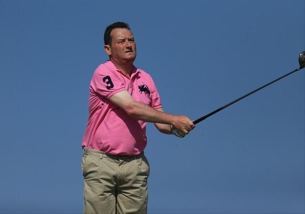 Castletroy's Eamonn Haugh is the 2014 Munster Mid-Amateur champion.Picture: Thos Caffrey /  www.golffile.ie