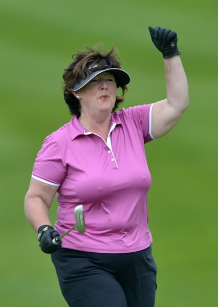 Phil Barry (Cahir Park) competing in the 2014 Miele All Ireland Ladies Interclub Fourball Regional Finals at Athlone Golf Club (08/09/2014). Picture by Pat Cashman