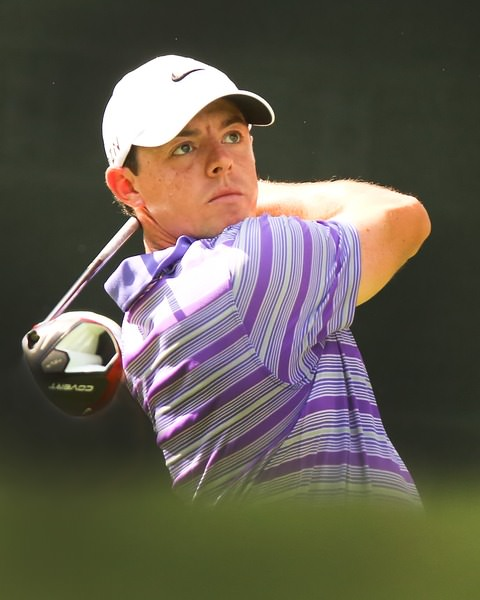 Rory McIlroy during Thursday's first round of The Tour Championship at East Lake Golf Club in Atlanta, Georgia. Photo Kenneth E. Dennis / kendennisphoto.com