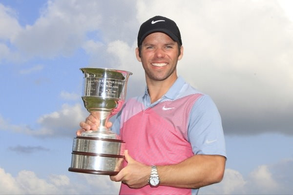 Paul Casey following his win in the KLM Open at Kennemer Golf & Country Club on Sunday 14th September 2014. Picture: Thos Caffrey / www.golffile.ie