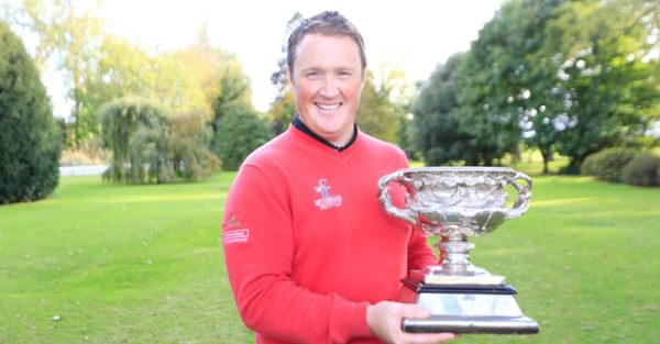 Michael McGeady, the 2013 Irish Professional Championship winner.