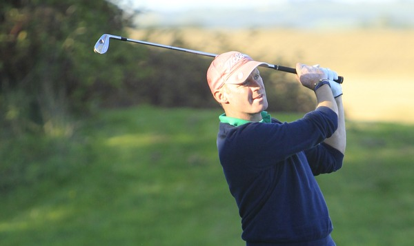Richard Creamer (Golfquip) during the Irish PGA Championship in Roganstown Golf Club in 2013. Picture: Thos Caffrey / www.golffile.ie
