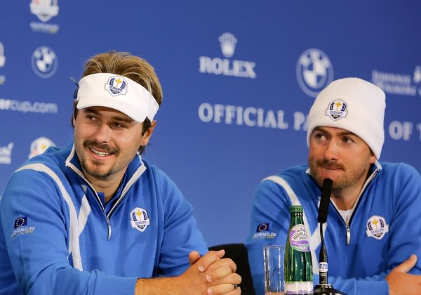 Victor Dubuisson and Graeme McDowell. Photo credit : kenneth e. dennis/ kendennisphoto.com