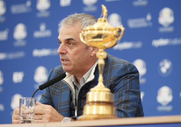 Victorious European captain Paul McGinley will be professional when choosing the 2016 captain. Picture Stuart Adams, www.golftourimages.com: