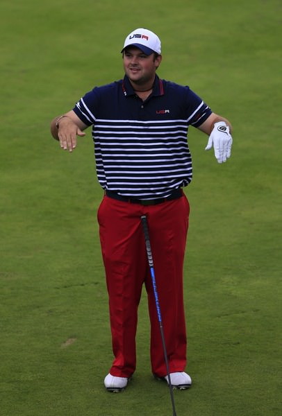 Patrick Reed.Picture: Fran Caffrey / www.golffile.ie