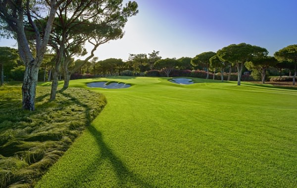 The eighth hole on the North Course at Quinta do Lago.