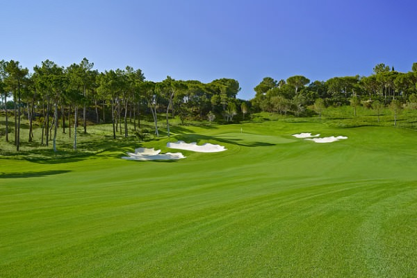 The 18th on the North Course at Quinta do Lago