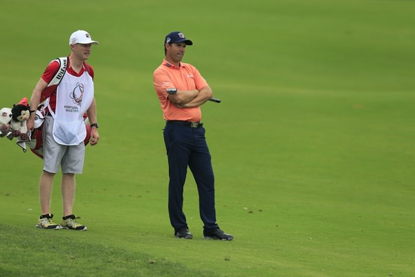 Pádraig Harrington waits to hit.Picture:Fran Caffrey / ©www.golffile.ie