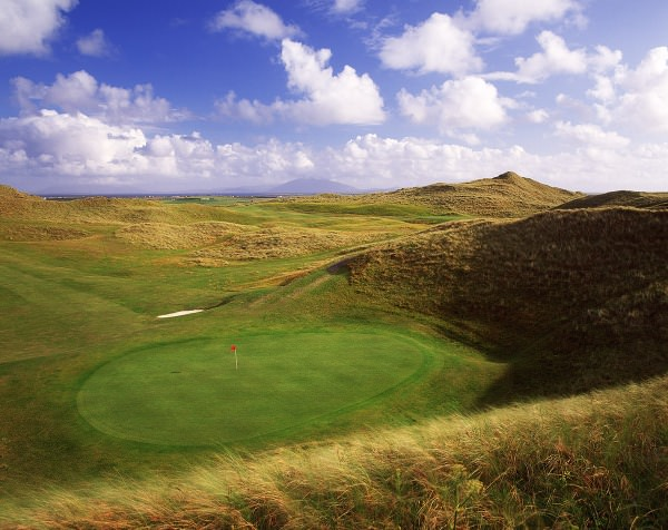 The 10th on the old links. Picture courtesy Aidan Bradley / golfcoursephotography.com