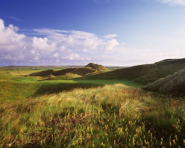 The 17th on the original course.Carne Golf Links. Picture courtesy Aidan Bradley / golfcoursephotography.com (Click to expand)