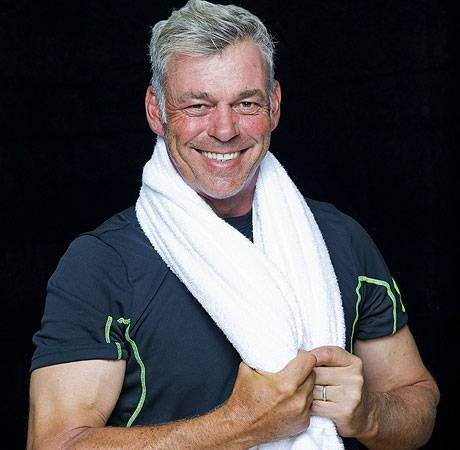 Darren Clarke has shed nearly five stone. Find out how at The K Club this Friday