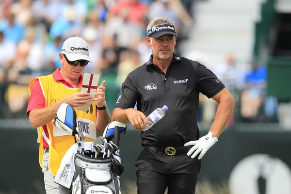 Darren Clarke during the 2014 Open Championship at Royal Liverpool. Picture Eoin Clarke,  www.golffile.ie