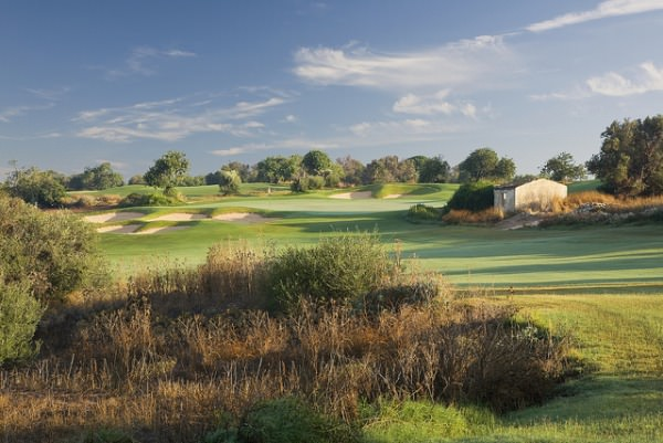 The 15th on the parkland course at Donnafugata in Sicily