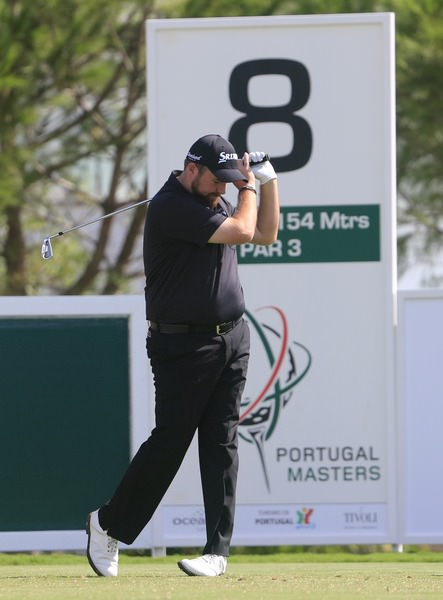 Shane Lowry laments a poor tee shot in Portugal. Picture Denise Cleary  www.golffile.ie