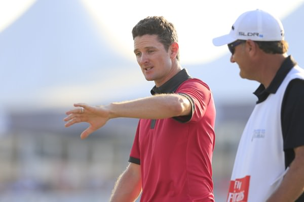 Justin Rose. Picture Fran Caffrey,  www.golffile.ie