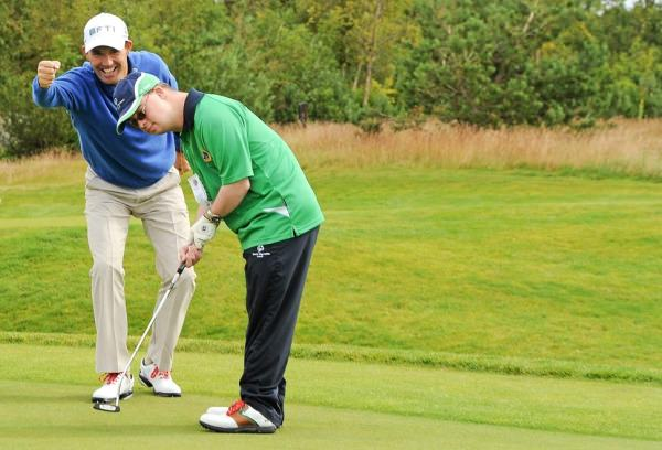 Padraig Harrington is a global ambassador for Special Olympics. Picture via  PadraigHarrington.com