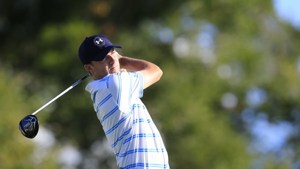 Jordan Spieth during the Hero World Challenge at Isleworth. Picture Fran Caffrey, www.golffile.ie