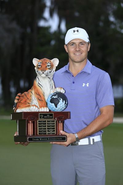 Jordan Spieth. Picture Fran Caffrey, www.golffile.ie