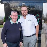 Gerard with European Tour player Shane Lowry