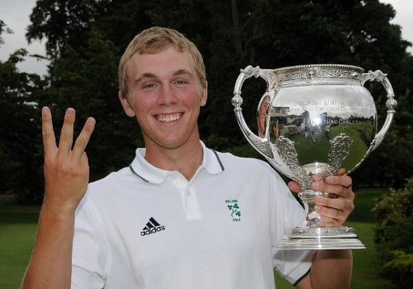 Seamus Power with his third Irish Youths crown back in 2008. Picture Pat Cashman