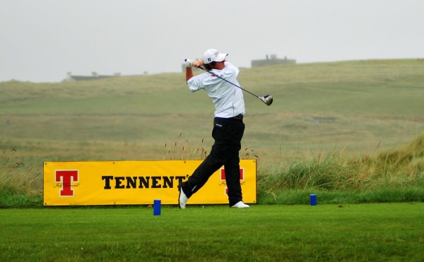 Rory McIlroy in action at Rosapenna in 2007, the year he turned professional