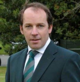 Pat Finn, General Secretary of the Golfing Union of Ireland