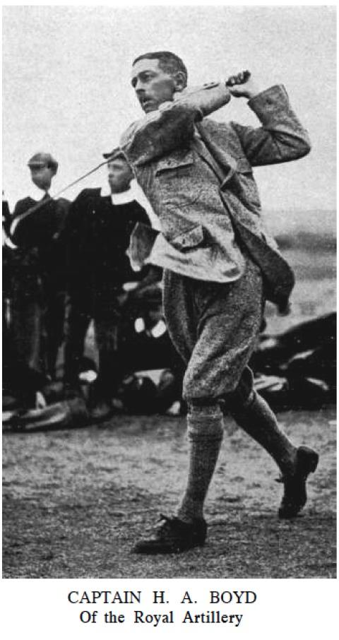 Captain HA Boyd. Via Golf Illustrated