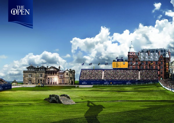 The Open is returning to St Andrews in 2015