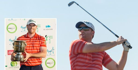 Philipp Mejow won the Pro Golf Tour's Red Sea Ain Sokhna Classic in Egypt. Picture via www.pga.de