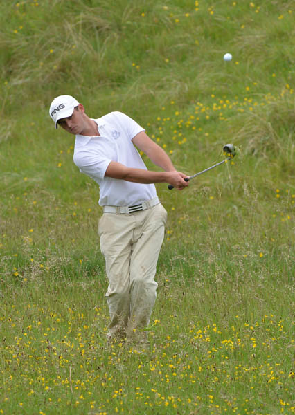 Conor O'Rourke during the 2014 East of Ireland Championship at Baltray. Picture: Pat Cashman