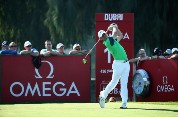Rory McIlroy opened with a 66 in Dubai. Picture © Getty Images
