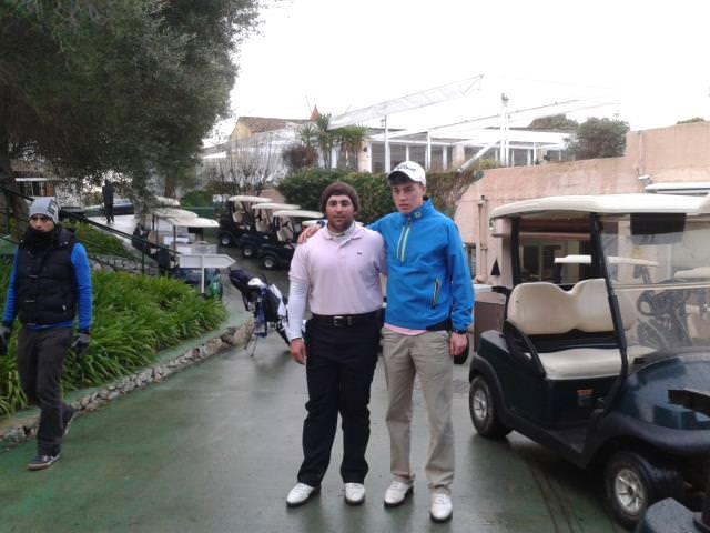 Mario Galiano and Kevin LeBlanc.