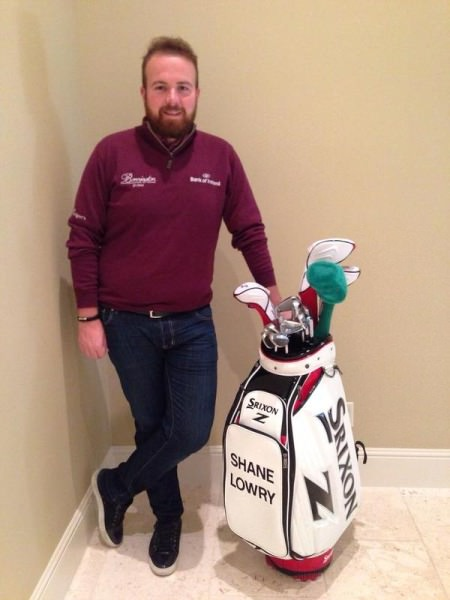 For your chance to win a signed golf bag from Shane Lowry please follow  this link  and donate €10 to the  Irish Kidney Association