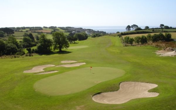 Youghal Golf Club's sixth hole. Picture via  Youghalgolfclub.ie