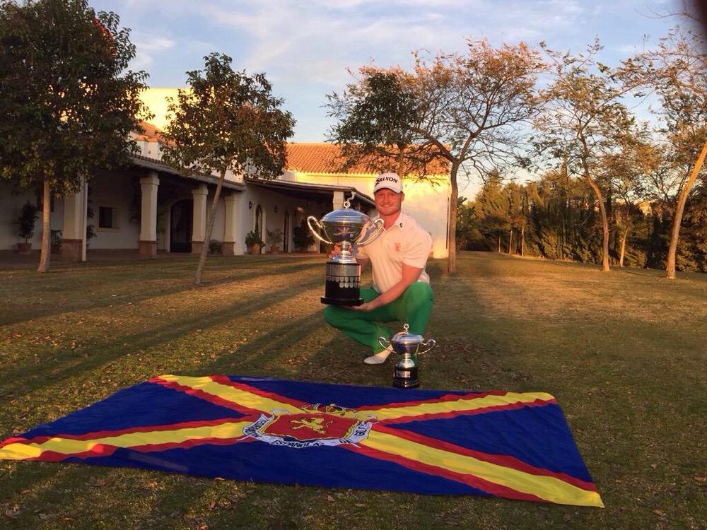 Jeroen Krietemeijer with the Copa del Rey