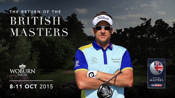 Ian Poulter will host the British Masters at Woburn in October
