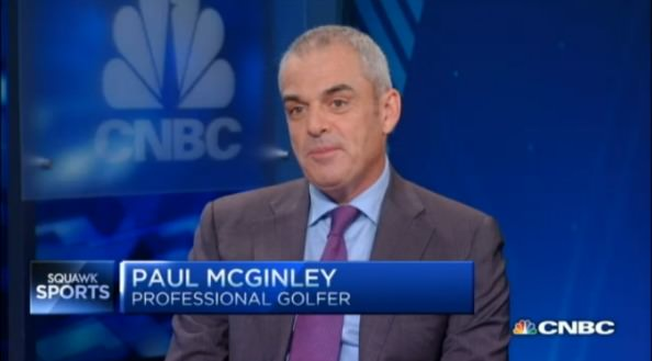 Paul McGinley continues to work with Ryder Cup sponsors EY