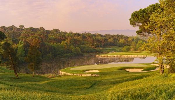 The par-three 11th at PGA Catalunya Resort