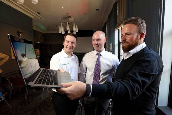 Bernard Quigley, Colm Daly and Shane Lowry check out  SimplyGolf.com