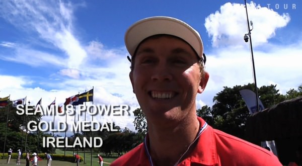 "Seamus Power, ""Olympic"" champion, had a laugh in Sao Paolo but now he's going well in Chile"