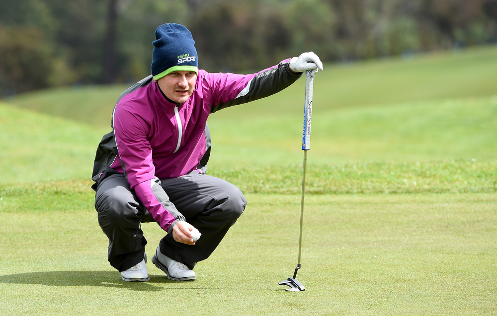 Finland's Jaakko Makitalo is one of eight players tied for second in Madeira