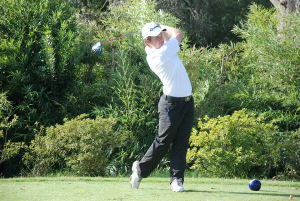 Jack Hume in action in Buenos Aires this week. Picture via  Asociación Argentina de Golf