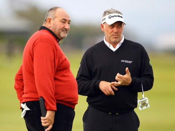 Chubby Chandler and Darren Clarke. Picture via Golfism.net
