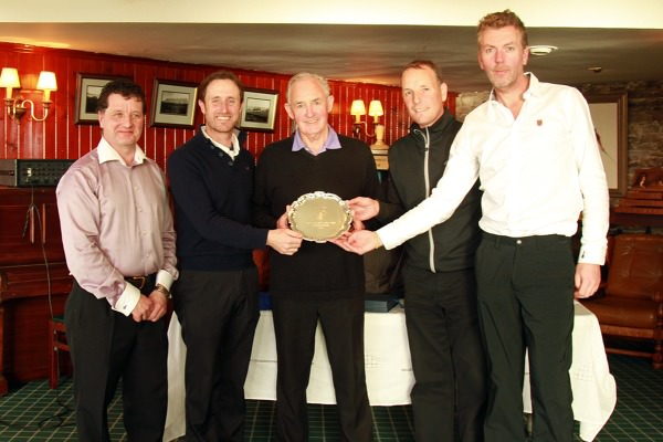Winners at Waterville. Picture  @corkgolfnews