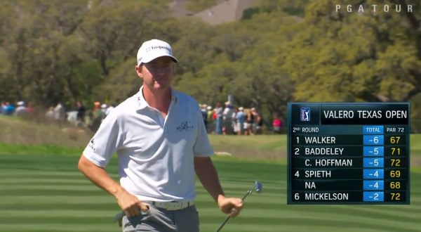 Jimmy Walker. Picture via Golf Channel