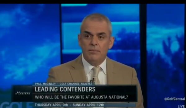 Paul McGinley speak on Golf Channel on Friday