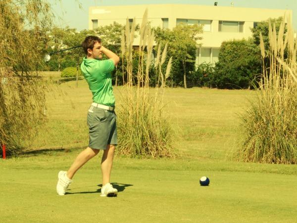 Whitehead's John-Ross Galbraith. Picture courtesy  Asociacion Argentina de Golf