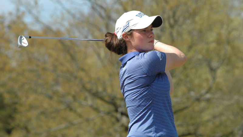 Leona Maguire. Picture by Lindy Brown, Duke Sports Information